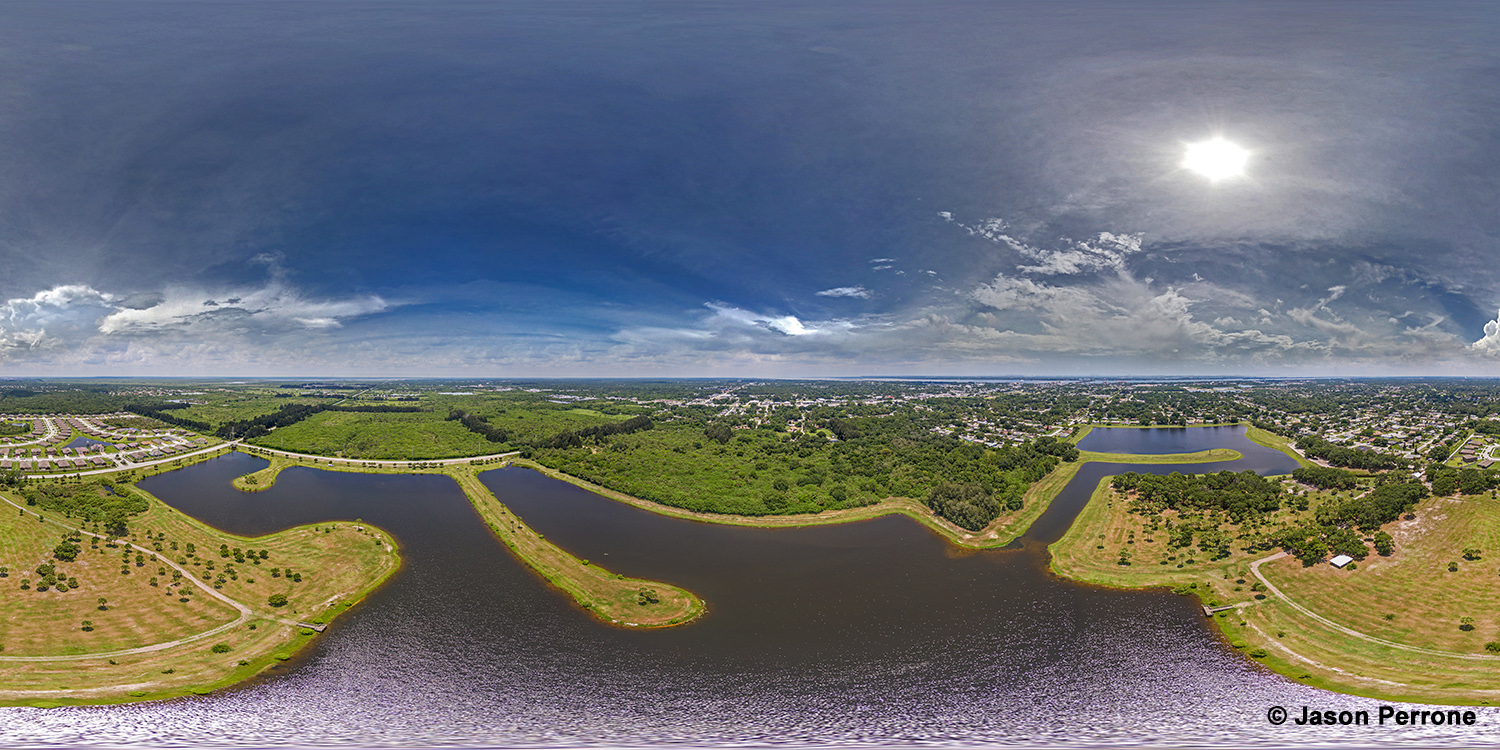 Dr. Robert A. Anderson Stormwater Park Panoramic