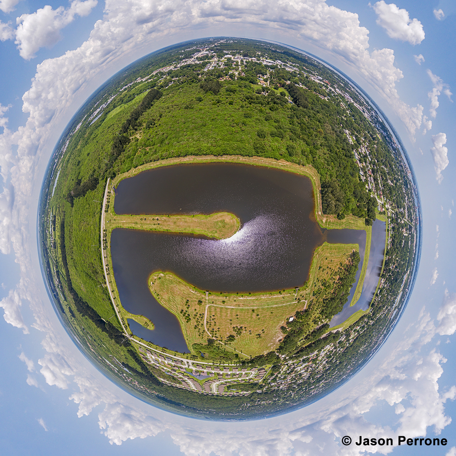 Dr. Robert A. Anderson Stormwater Park Little Planet