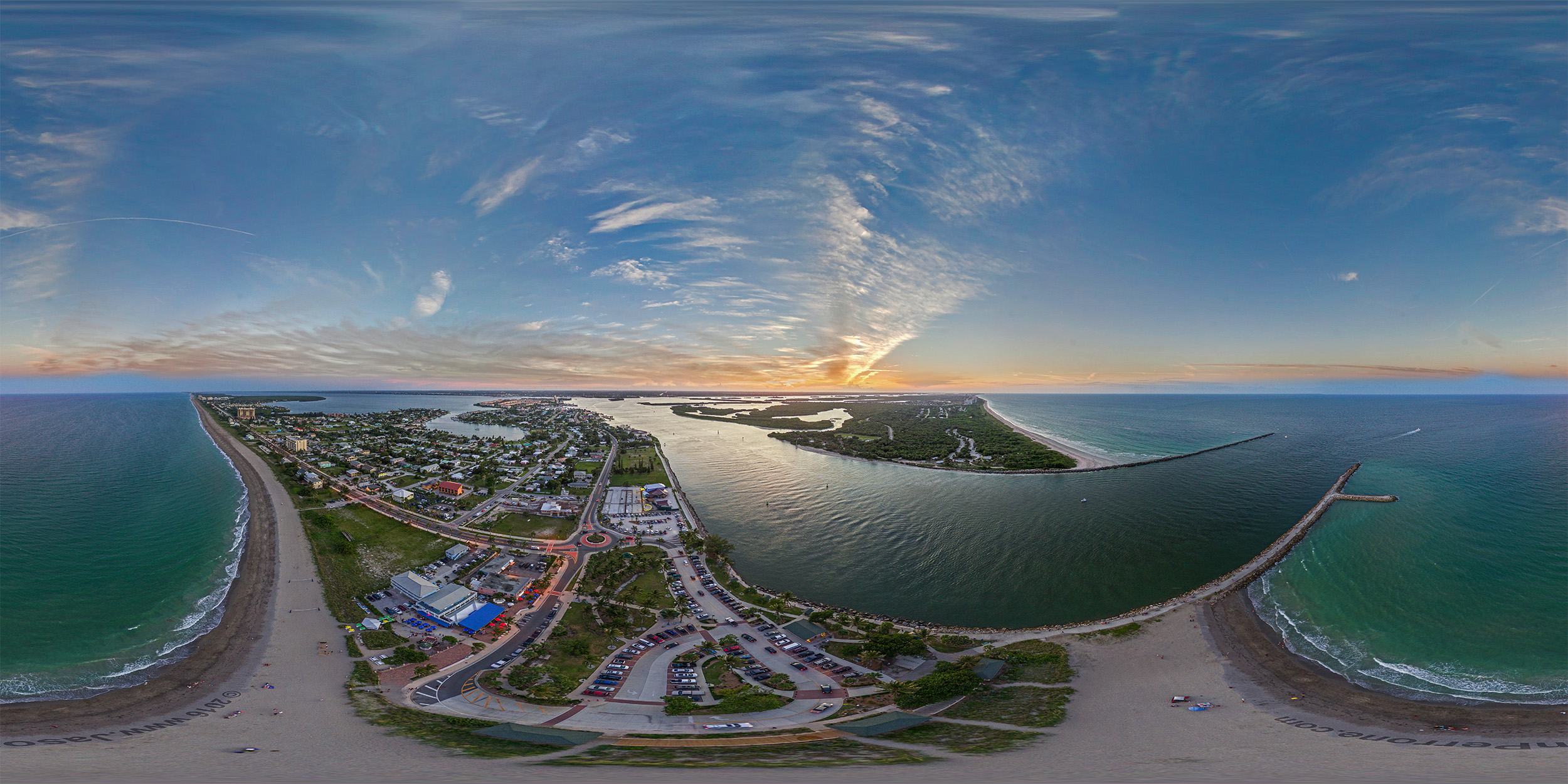 Fort Pierce Inlet State Park 360 panoramic