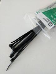 zip ties used for aerial 360 video plate