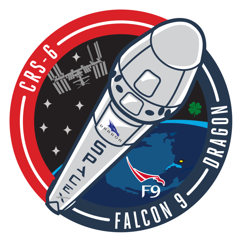 SpaceX CRS-6 Mission Patch