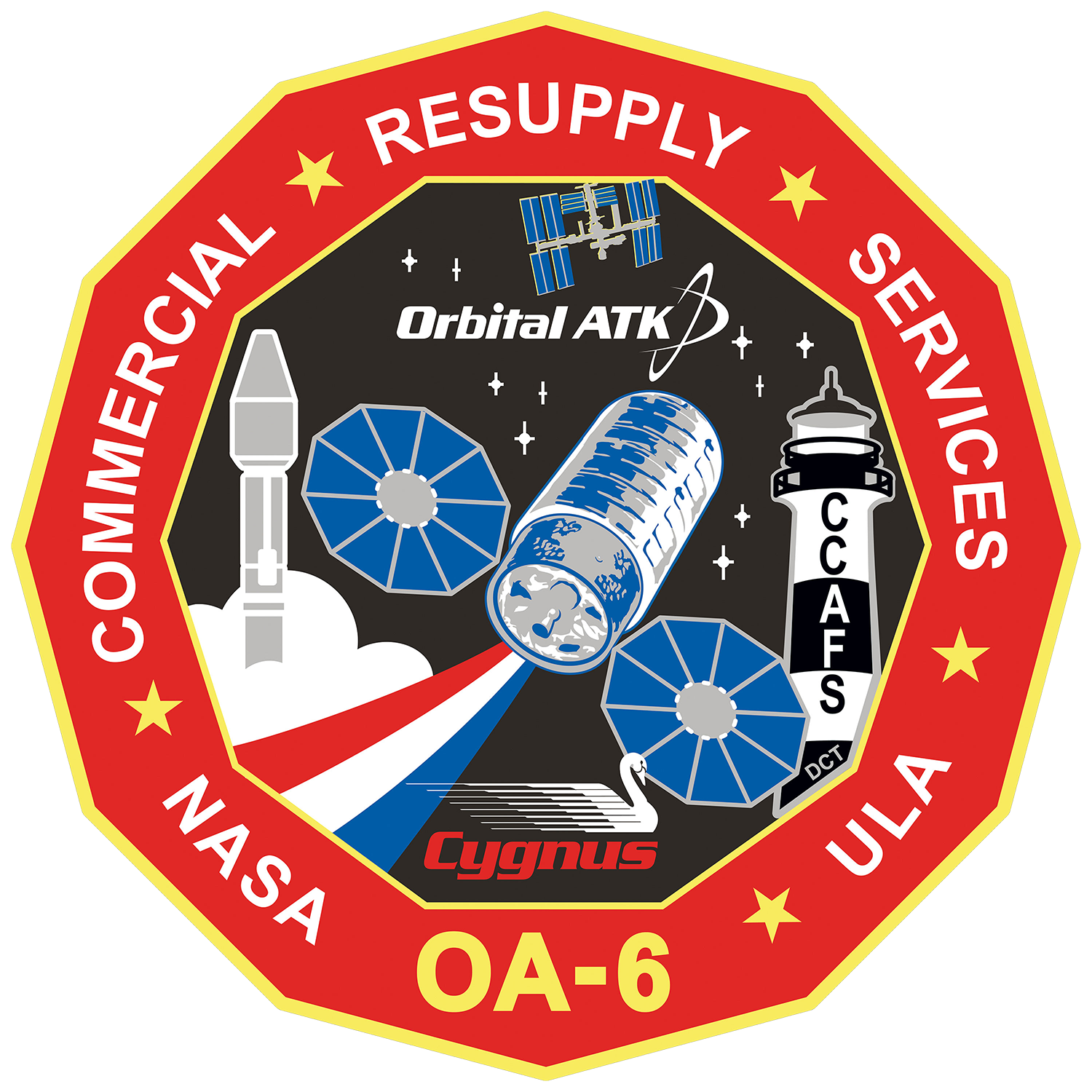 Orbital ATK CRS 6 Patch