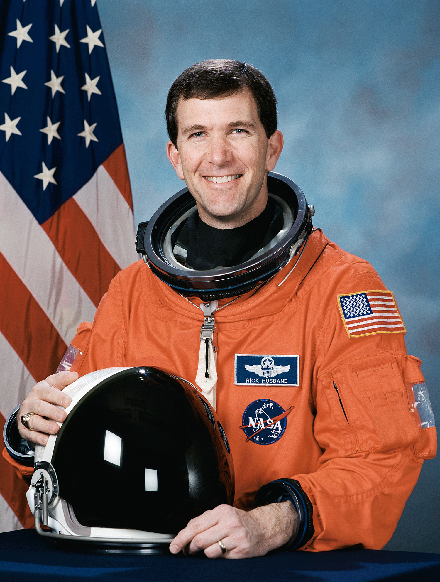 Richard Husband, NASA portrait