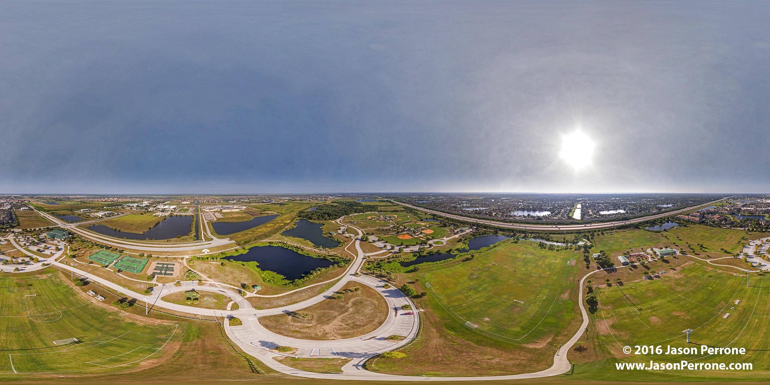 Viera Regional Park Aerial 360