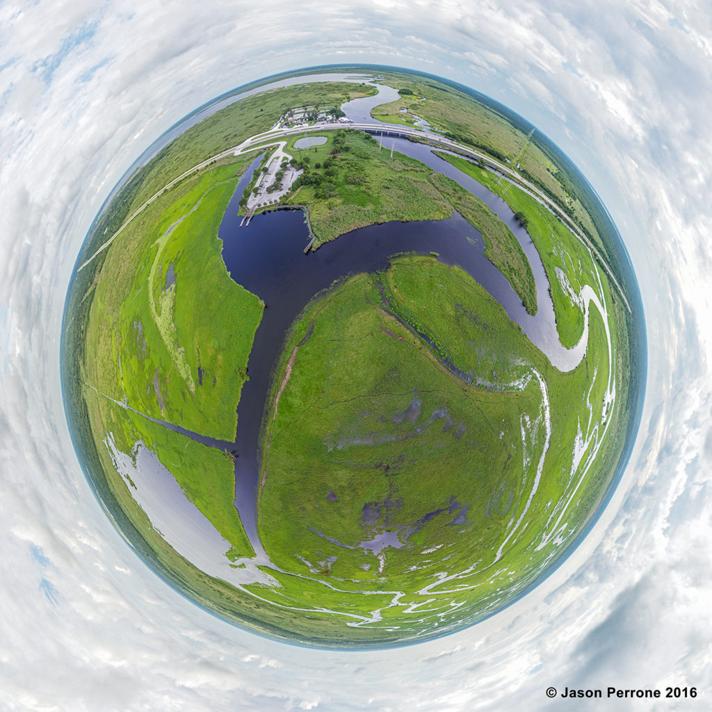 St. John's River Aerial 360 Degree Panorama,