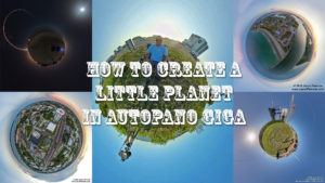 How to create a little planet image in autopano giga