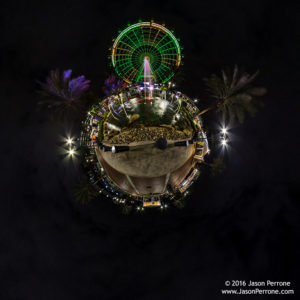 Coca-Cola Orlando eye 360 little planet
