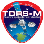 TDRS-M Satellite mission logo