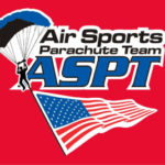 air sports parachute team logo skydiving santas