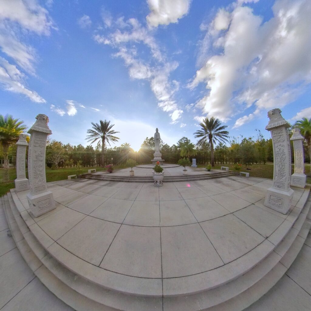 White Sands Buddhist Center in Mims, Florida