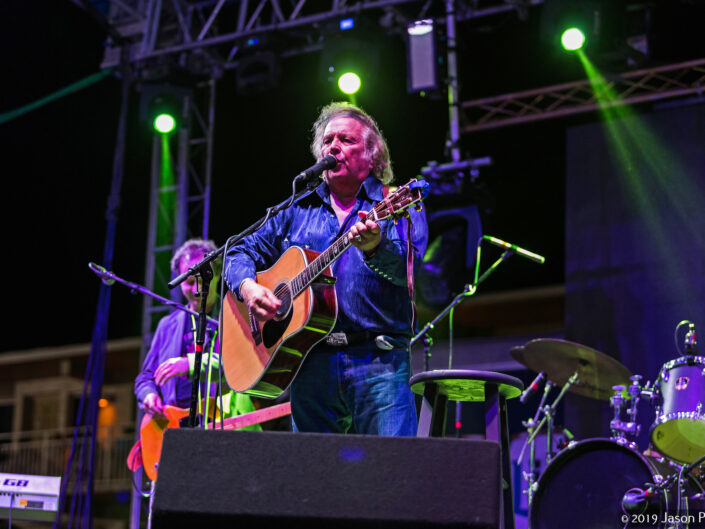 Don McLean performing at the Cocoa Beach Seafood Festival 2017