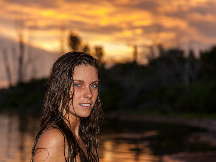 Hailey Sunrise Portrait