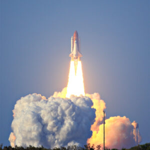 Space Shuttle Discovery lifts off from Kennedy Space Center for the STS-133 mission