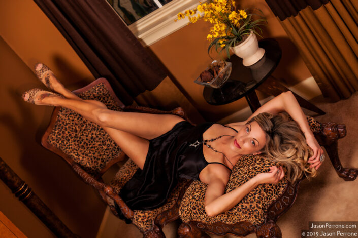 Boudoir calendar shoot in Cocoa, Florida.