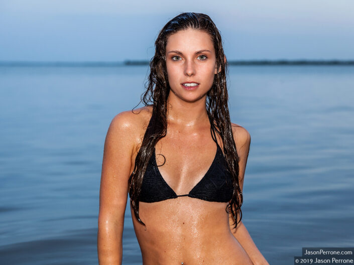 Swimsuit photography session with Haley in the Merritt Island Wildlife Refuge