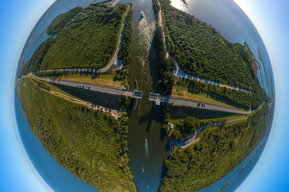 Haulover Canal Aerial 360-degree Panoramic