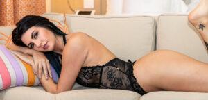 Shaylene - Black Teddy Set