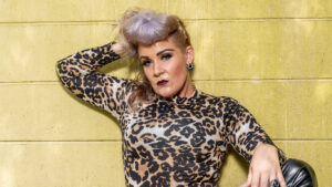 Whitney Morgan Cheetah Bodysuit Set